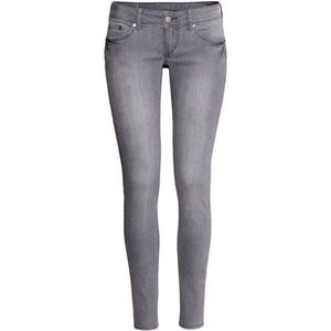 H&M Super Skinny low waist jeans